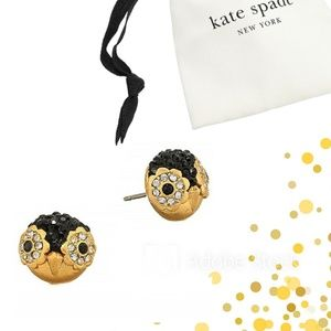 kate spade Dashing Beauty Penguin Earrings